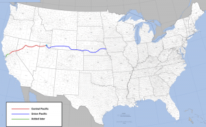 1869_Transcontinental railroad completed
