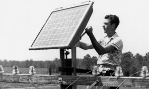 1954-First Solar Cell